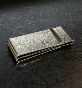 Shiny Silver Double Moneyclip