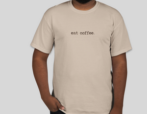 """Eat Coffee"" COBA T-shirt"