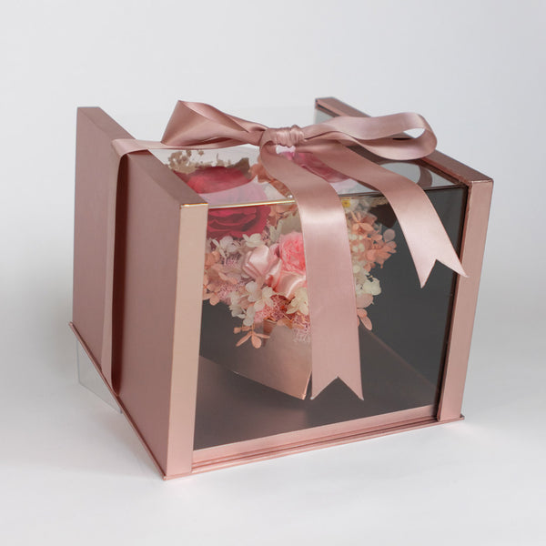 Pearly Gift Box Dusty Pink – Daisy Dreams Preserved Flowers