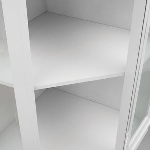 Corner Bar Unit White