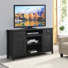 "Load image into Gallery viewer, Black Tv Stand up to 65"" TV"