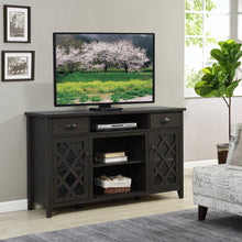 "Load image into Gallery viewer, Oak Tv Stand up to 75"" TV"