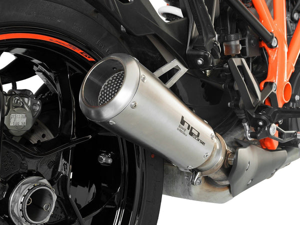 "HP CORSE KTM 1290 Super Duke GT Slip-on Exhaust ""GP-07 Satin"" (racing)"