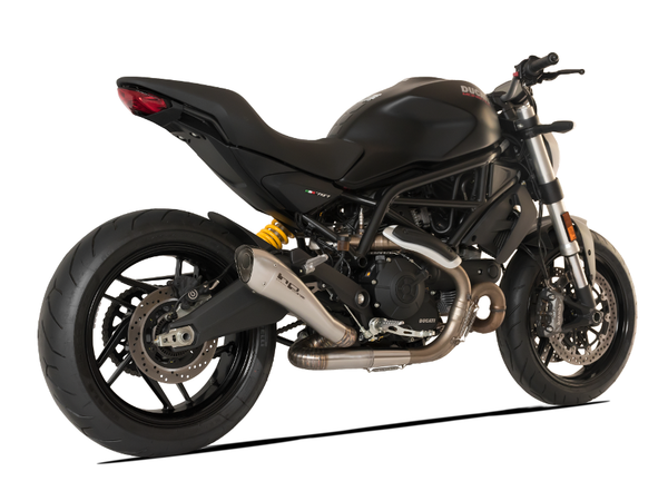 "HP CORSE Ducati Monster 797 Slip-on Exhaust ""Hydroform Satin"" (racing only)"