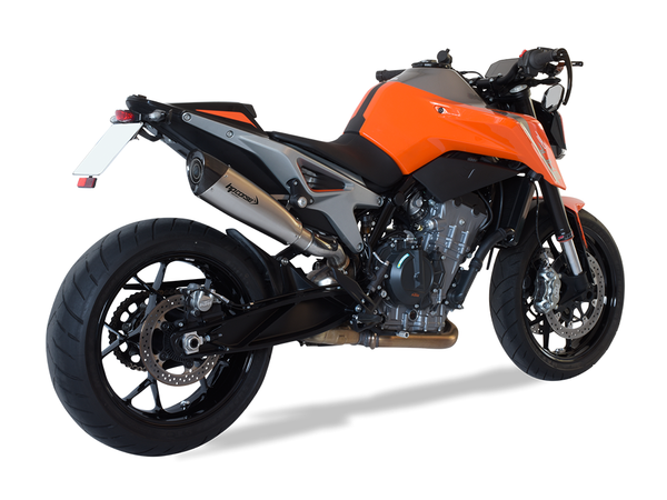 "HP CORSE KTM 790 Duke Slip-on Exhaust ""Evoxtreme Satin"" (EU homologated)"