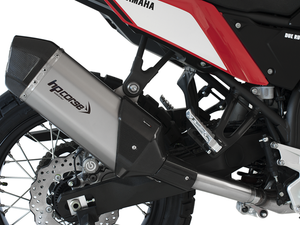 "HP CORSE Yamaha Tenere 700 Slip-on Exhaust ""SPS Carbon Short Satin"" (EU homologated)"