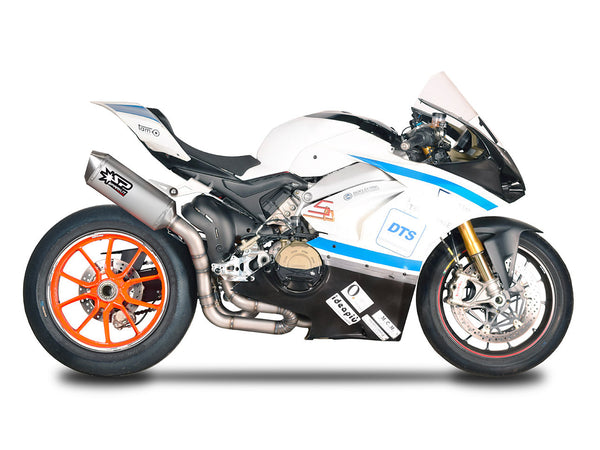 "SPARK Ducati Panigale V4 Full Titanium Semi-Full Exhaust System ""Grid-o and Force"" (racing)"