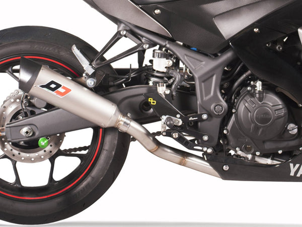 QD EXHAUST Yamaha YZF-R3 (15/18) Full Exhaust System (racing)