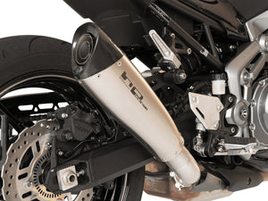 "HP CORSE Kawasaki Z900 Slip-on Exhaust ""Evoxtreme Satin"" (EU homologated)"