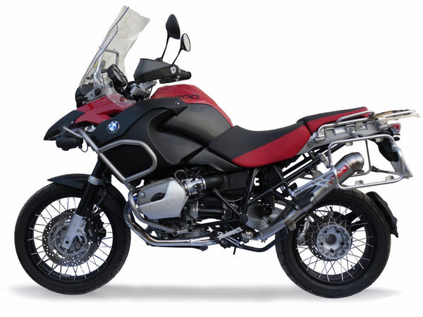 "GPR BMW R1200GS (10/12) Full Exhaust System ""Powercone Evo 4"" (EU homologated)"