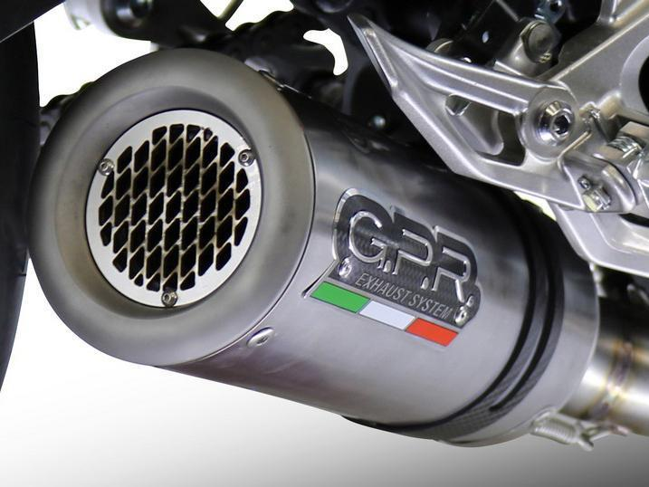 "GPR Aprilia Tuono V4 1000 Slip-on Exhaust ""M3 Titanium Natural"" (EU homologated)"