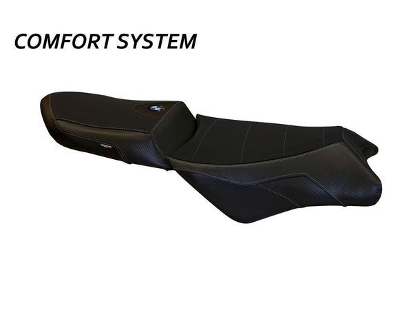 "TAPPEZZERIA ITALIA BMW K1300GT Comfort Seat Cover ""Anapa Total Black"""