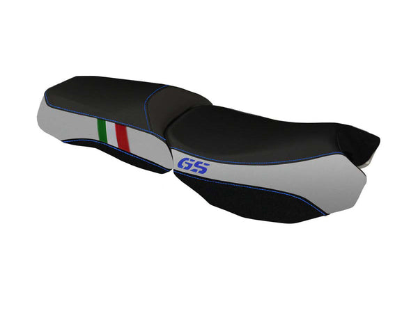"TAPPEZZERIA ITALIA BMW R1200GS Adventure (13/18) Seat Cover ""Bologna Basic Tricolore"""
