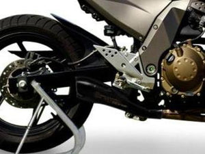 "HP CORSE Kawasaki Z750 (04/06) Slip-on Exhaust ""Hydroform Black"" (EU homologated)"