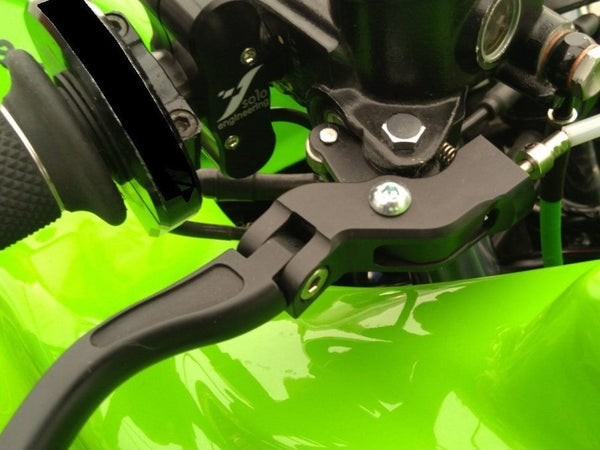 "L15 - PERFORMANCE TECHNOLOGY Kawasaki Ninja Handlebar Levers Set ""Evo"""