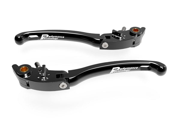 "LE01 - PERFORMANCE TECHNOLOGY Ducati / Aprilia Adjustable Handlebar Levers ""Eco GP 1"""