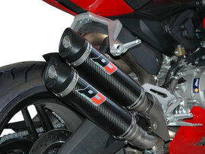 "QD EXHAUST Ducati Panigale 959 Dual Slip-on Exhaust ""Magnum"" (EU homologated)"