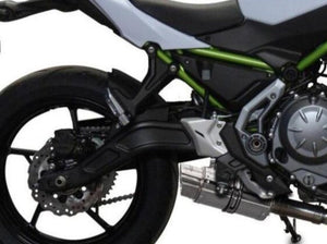 "DELKEVIC Kawasaki Z650 Full Exhaust System with Mini 8"" Silencer"