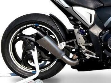 "HP CORSE Honda CB1000R High Position Slip-on Exhaust ""Evoxtreme Satin Single"" (EU homologated)"