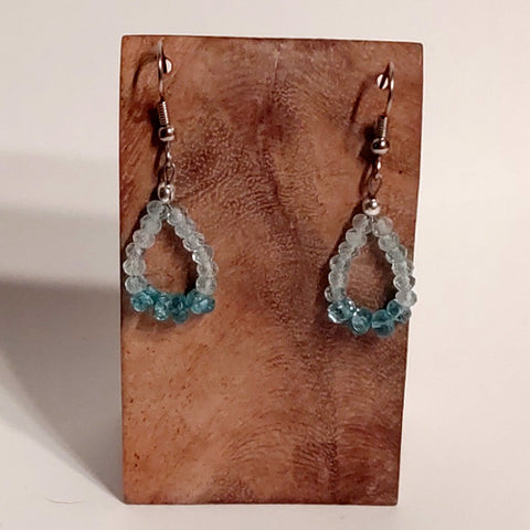 Earrings - Apatite 001