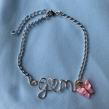 Load image into Gallery viewer, Couples/BFFs Initials Bracelet - Silver