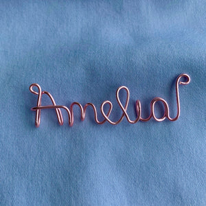 Custom Name Necklace - Rose Gold