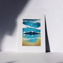 Load image into Gallery viewer, The Mourne Mountains A5 Mounted Print