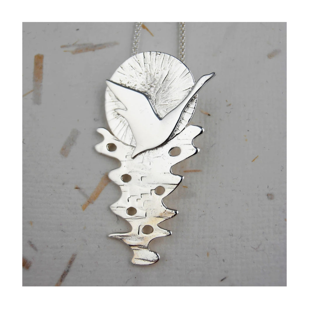 Belonging Necklace from Banshee Silver