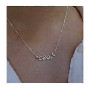 Ceol necklace from Banshee Silver