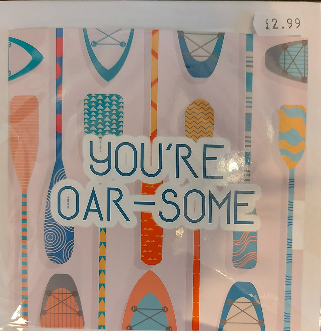 You're oarsome card