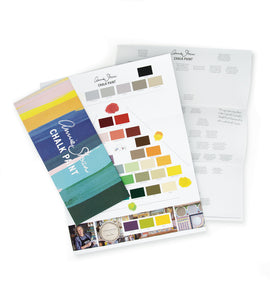 The Chalk Paint Colour Card - Annie Sloan