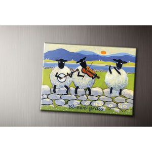 Bl-ewe Grass Fridge Magnet