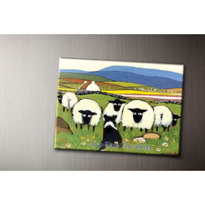 Are Ewe The Boss Fridge Magnet