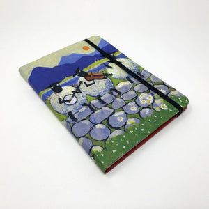 Bl-ewe Grass Notebook