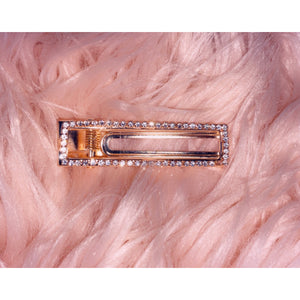 Square Diamond glam pin