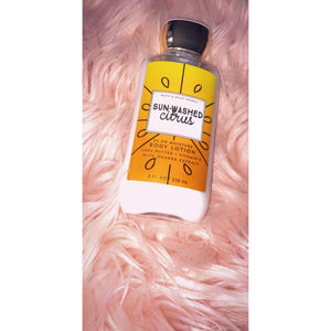 Sun washed citrus body lotion