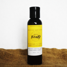 Load image into Gallery viewer, Plantain & Coco Wash (Liquid Black Soap)