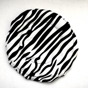 """Zebra Print"" Thermal Heat Cap"