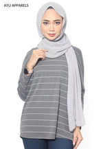 Tabby Oversized Blouse Grey