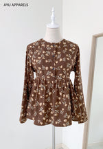 Doll Blouse Rose Brown