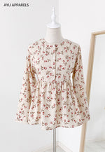 Doll Blouse Rose Cream