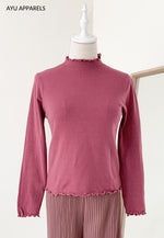 Petite Frills Cotton Inner Berry