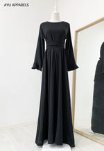 Sephia Tied Dress Black