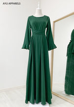 Sephia Tied Dress Emerald