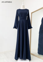 Sephia Tied Dress Navy Blue