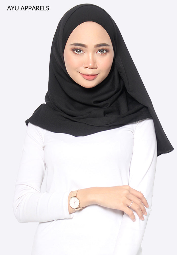 Cornskin Shawl Black