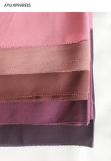 Widya Eyelash Chiffon Shawl Dirty Pink