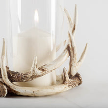 Load image into Gallery viewer, Hurricane Antler Candle Holder