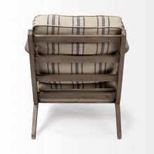 Load image into Gallery viewer, Striped Accent Chair