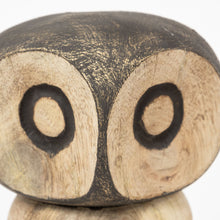 Load image into Gallery viewer, Carved Wooden Owl